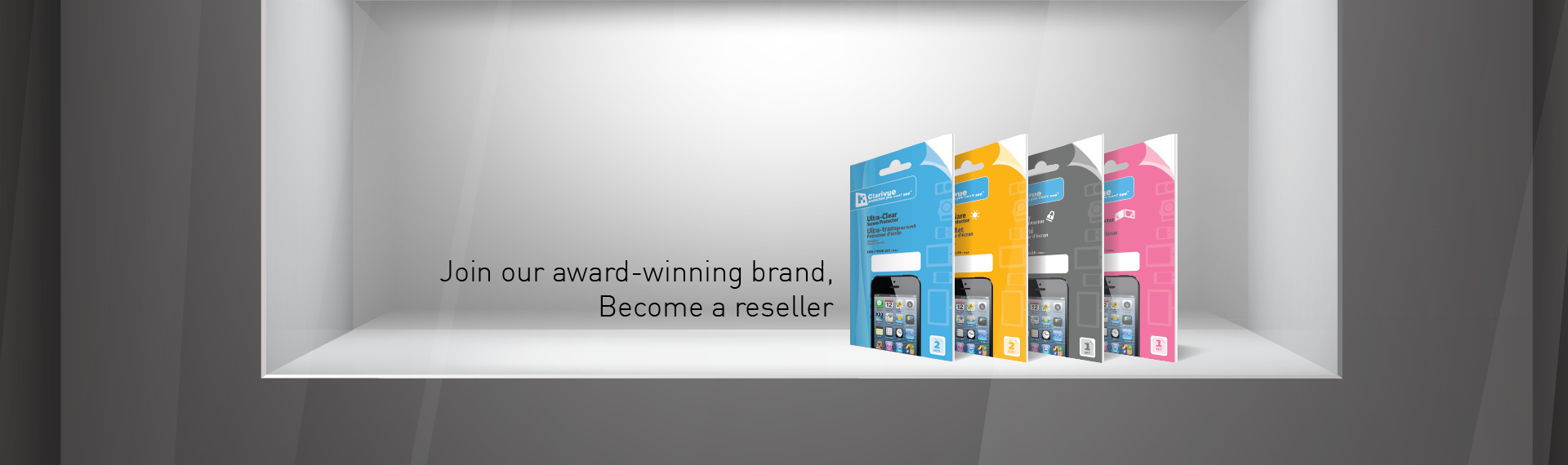 Award winning screen protector brand